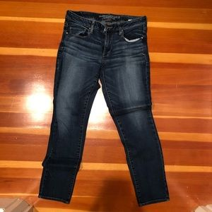 American Eagle size 12 skinny jeans